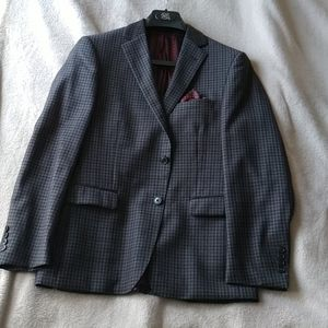 "Wool Blazer 38S - ""Bryer"" by Black & Brown 1826."